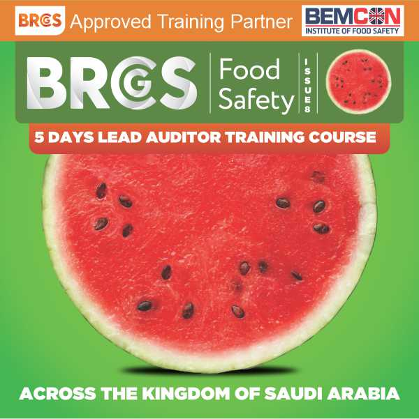 BRCGS 5-Days Food Safety Issue-8