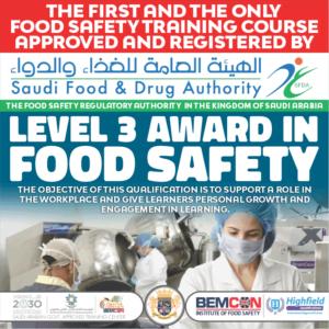 Food Safety Level 3 SFDA Dec 2020