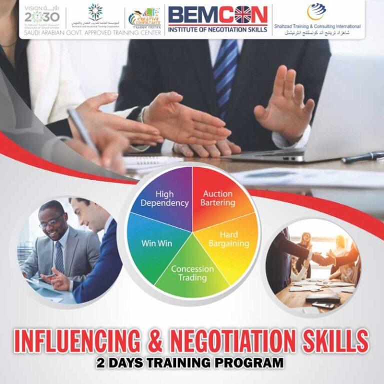 Influencing & Negotiation Skills