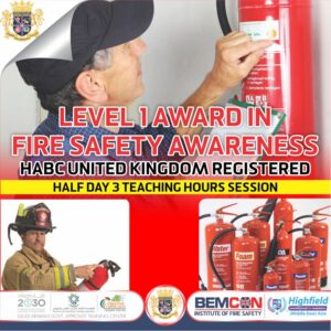Level 1 Award in Fire Safety Awareness