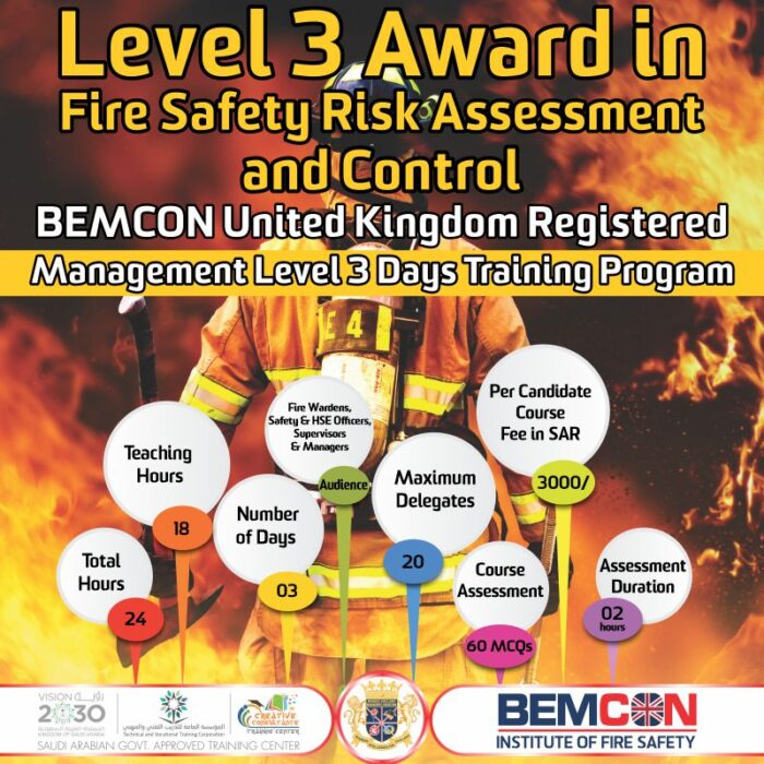 Fire Safety Level 3
