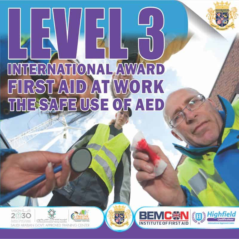 First Aid Level 3 OCT 2020