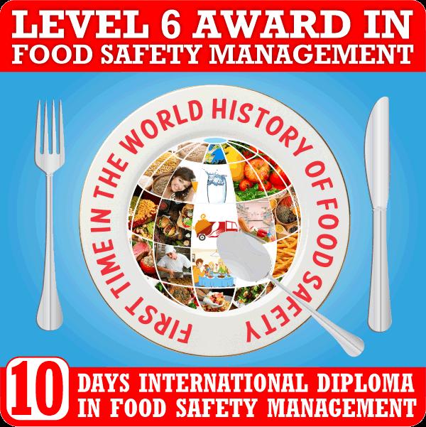 Food Safety Level 6 Jan Feb 2021