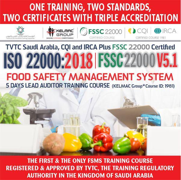 ISO 22000:2018 | FSSC 22000 V5
