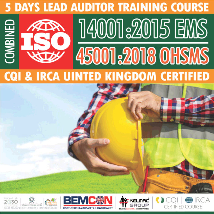 ISO 14001:2015 EMS – 45001:2018 OHSMS