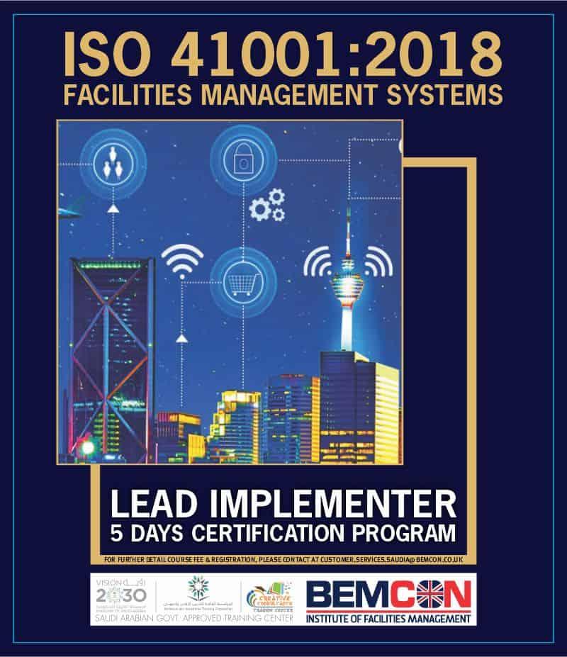 ISO 41001 2018 Facilites Management Nov 2020