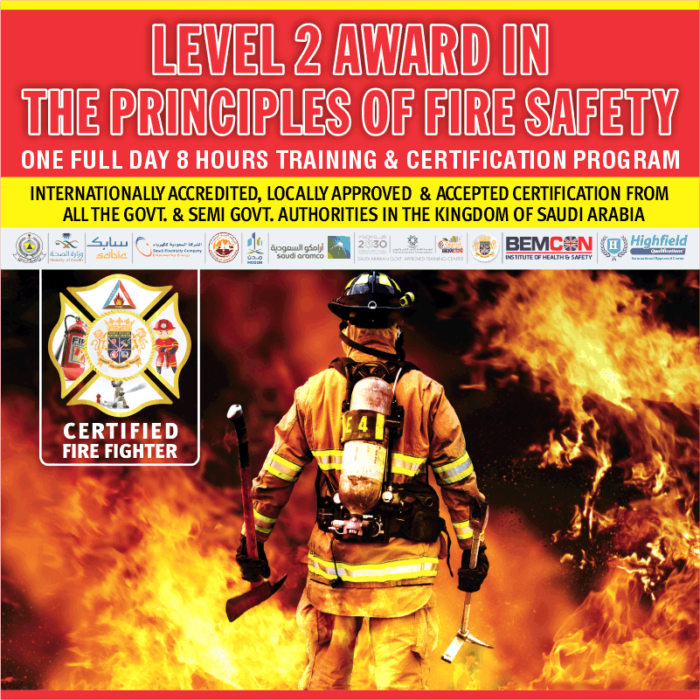 Level 2 in Fire Safety Principles