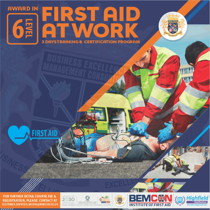 Level 6 in First Aid at Work