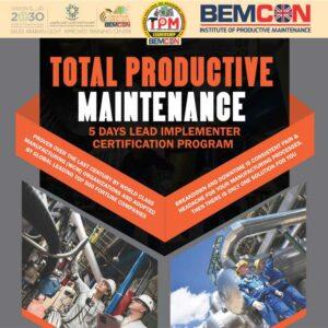 Total productive Maintenance TPM